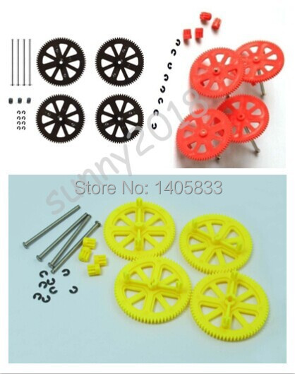 Spare Parts Motor Gears /& Shafts Red for Parrot AR Drone 2.0 /& 1.0 Quadcopter