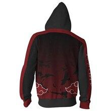 Anime Naruto Boruto Hoodie Uzumaki Boruto Naruto Uchiha Sasuke Akatsuki Tops Hoodies Sweatshirt Thin Zipper Coat Outfit
