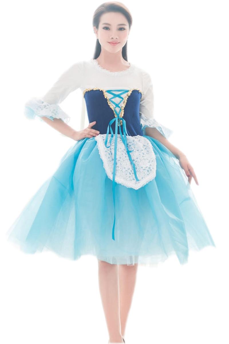 ใหม่สาวบัลเล่ต์การเต้นเสื้อผ้าการแต่งกายเสื้อผ้าและเครื่องแต่งกายคลาสสิกตูบัลเล่ต์มืออาชีพ Tutus บัลเล่ต์ Adulto