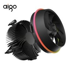 Aigo Shadow cpu RGB кулер 100 мм 4Pin светодиодный вентилятор RGB радиатор для процессора кулер PC cpu вентилятор радиатор охлаждающий алюминиевый теплоотвод мастер