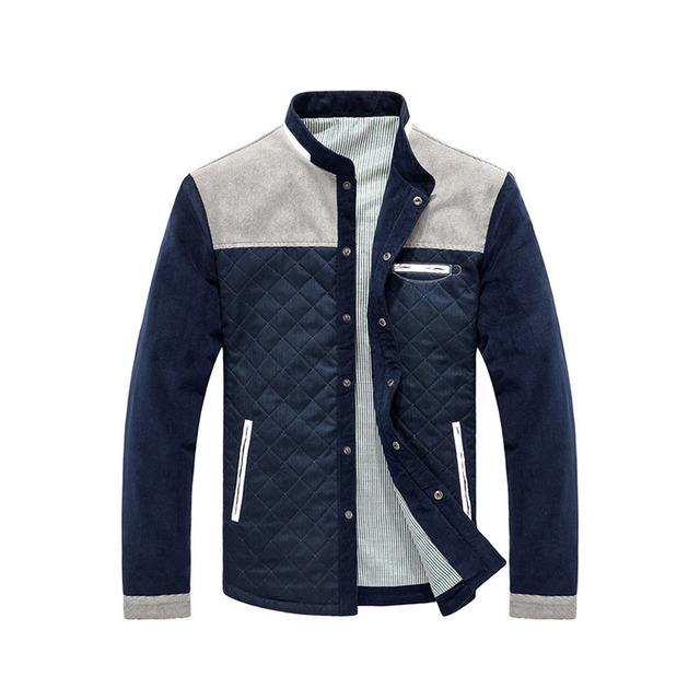 2019 Hot Sale Spring Autumn Men Casual Outwear Jacket Patchwork Coat Men Size M-3XL