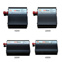 2017 150W/200W/300W/400W Car Power Inverter Converter Modified Sine Wave Power Vehicle Power Supply Switch With Charger Hot Sell