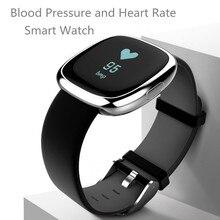 Фитнес-трекер здоровья Смарт часы мать отец подарок bluetooth браслеты здоровья Смарт-часы Health Monitor крови Давление