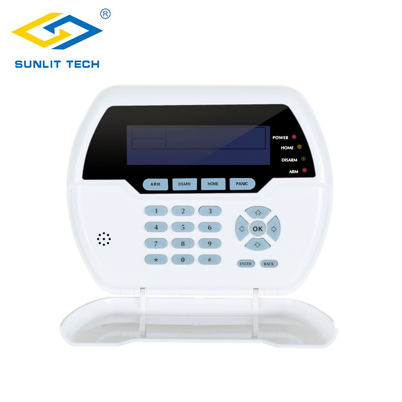 Wireless two Way Keypad For 433MHz/868MHz With LCD back light USB rechargable Battery with Focus Alarm System нож для теста dosh i home orion 100120