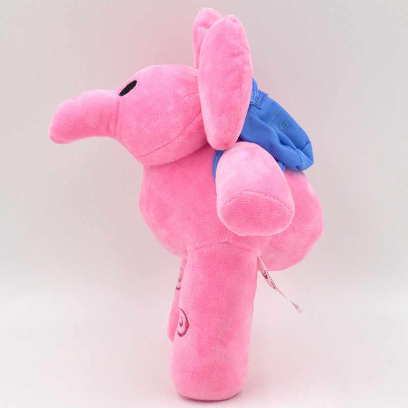 30 cm Anime Pocoyo Elly Pocoyo Elly Elefante Brinquedos de Pelúcia Bonito Brinquedos de Pelúcia Bichos de pelúcia Boneca para As Crianças de Natal Das Crianças presente