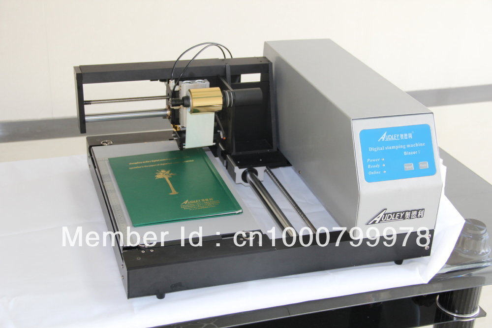 High Quality Digital Offset Foil Printer For Wedding