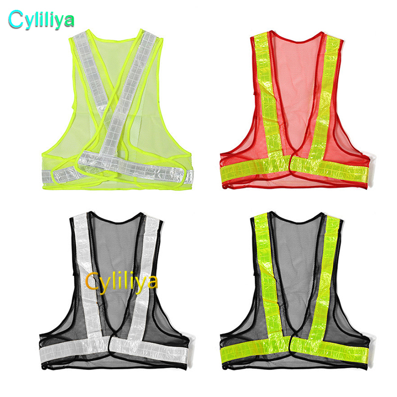Construction Traffic High Safety Security Visibility Reflective Warning Vest US