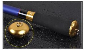 Image 5 - 2019 新超軽量カーボンスピニング釣竿ハード短絡餌キャスティングボートスティックペスカポール伸縮ロッド