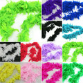 Retail Wholesale Fluffy Feather Scarves Dressup Hen Night Wedding Party Burlesque Fancy Scarf Wraps