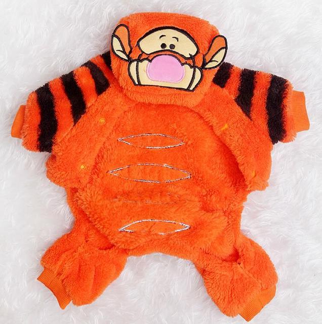 Halloween Dog Costume Soft Fleece 4