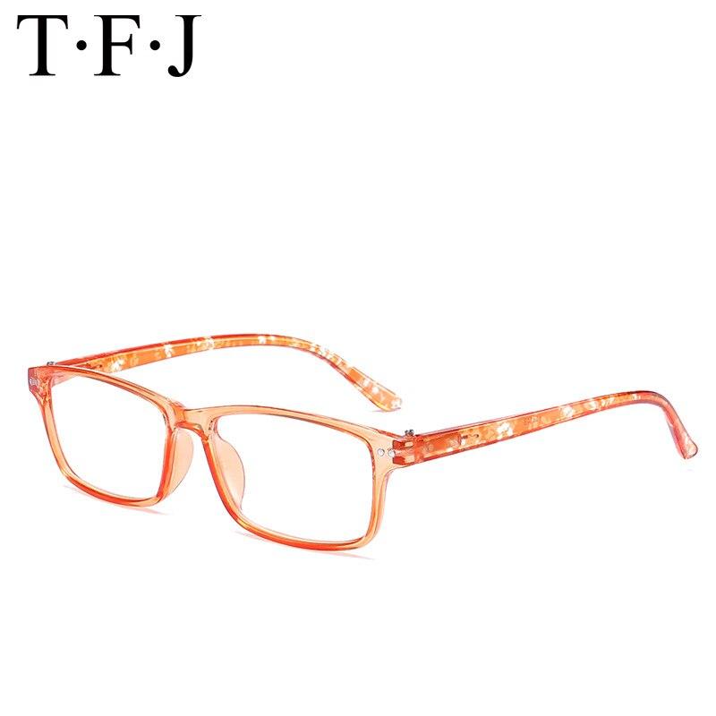 Fashion Colors Unbreakable Reading Glasses Women Men Ultralight Polycarbonate Anti Fatigue Spring Legs Design Magnifier Eyewear