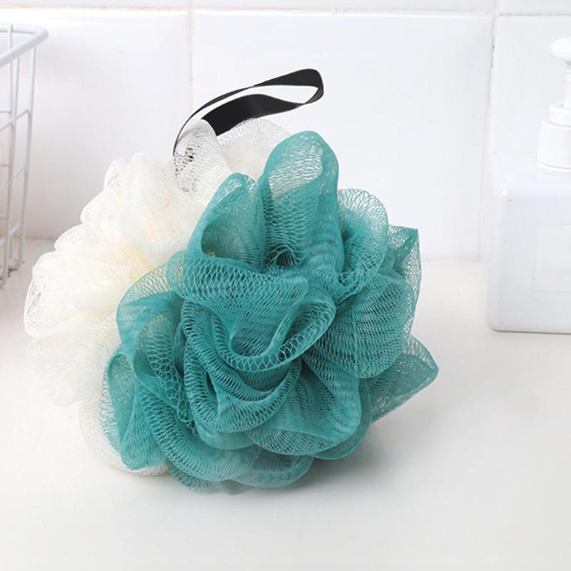 Mesh Back Scrubbing Bubble Ball Wash Bath Ball Large Bath Sponge Bath Flower Bath Washing body Tool Accessory