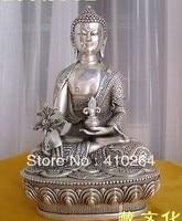 """Nakliye 8 """"Nepal Tibet Budist bronz Şifa Tıp buddha heykeli Statü ve Heykelleri Ev ve Bahçe -"""