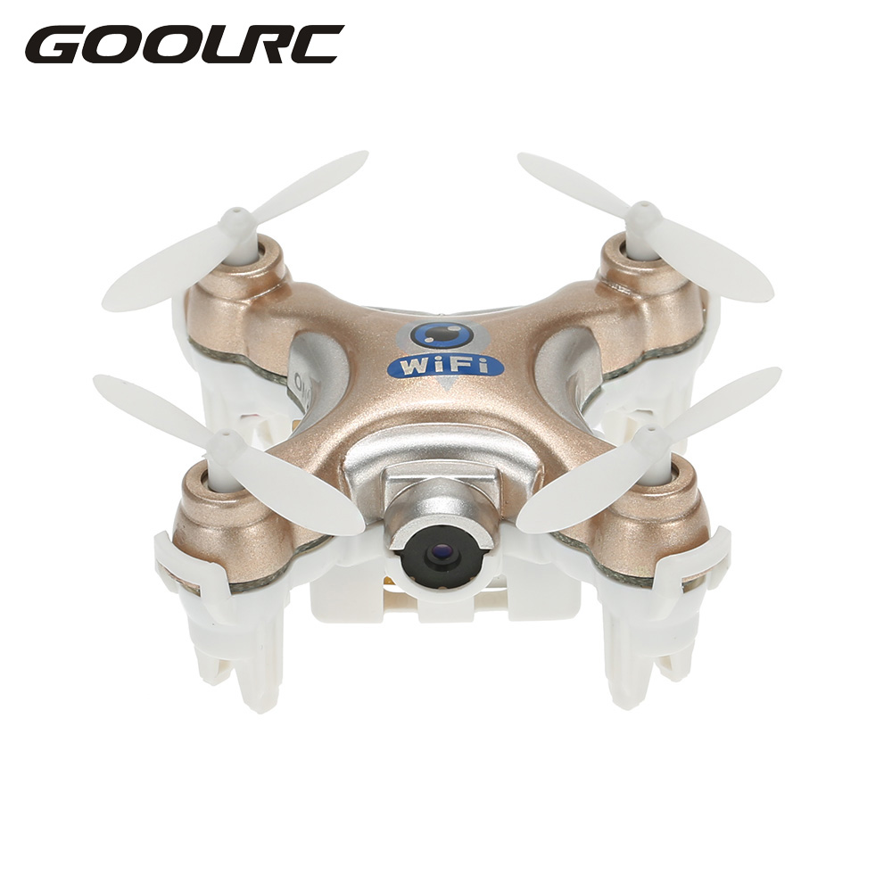 Mini Original CX-10W 4CH 6-achsen-gyro Wifi FPV Quadcopter RTF Mini RC Drone mit 0.3MP Kamera 3D Flips Funktion