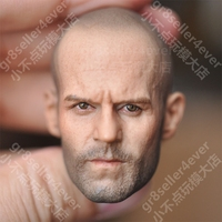 1/6 female Head Sculpt for 12 Action Figure body soldier head model toy Death squads speed and passion 8 Jason Steamson