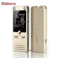 Shinco RV12 16G HIFI Lossless Real HD Recording Pen Professional Remote Noise Reduction 1 5 Inches