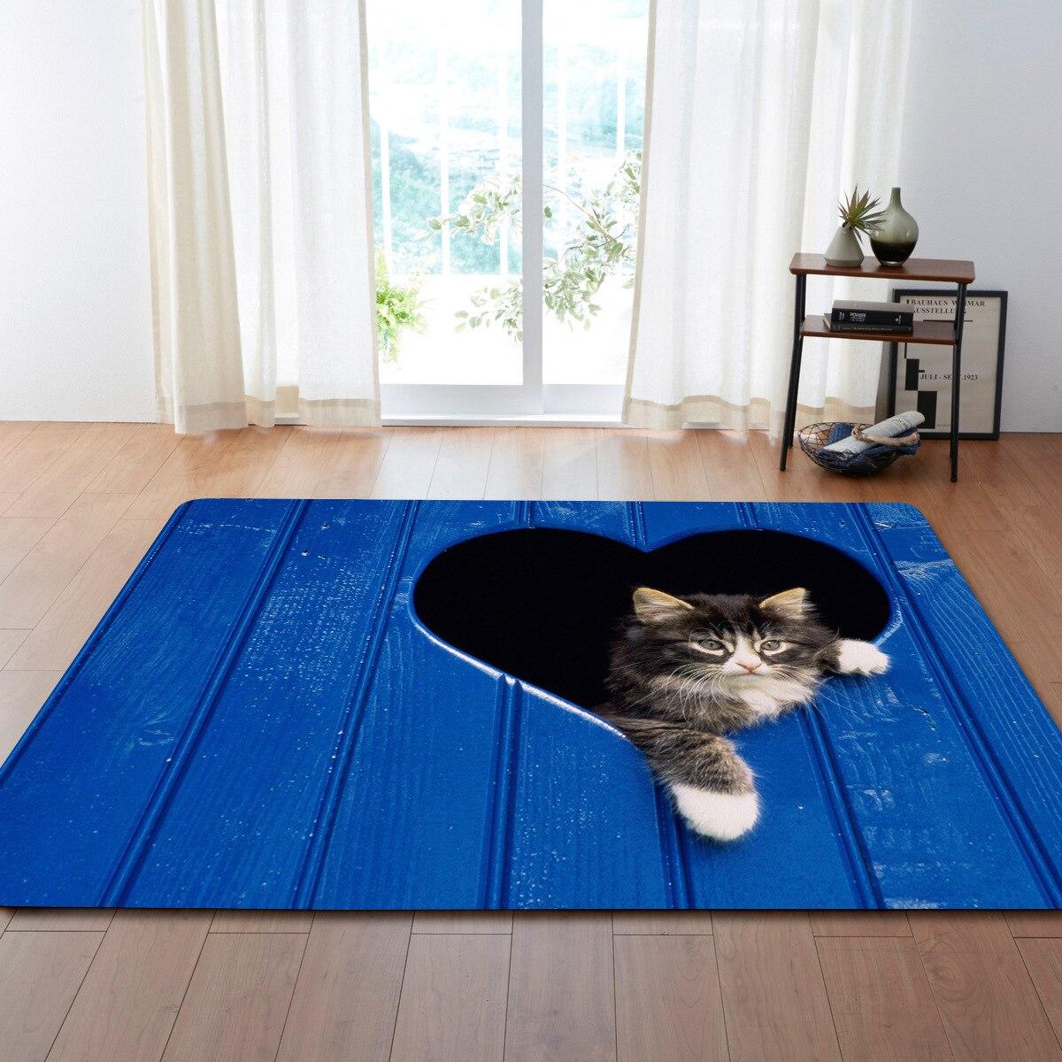 23 Stili Demissir 3d Cute Cat Stampa Grande Tappeto Per Soggiorno  -> Tapete De Sala Drops