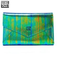2019 Fashion Colorful Women Wallet Many Departments Zipper P