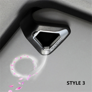 Image 1 - Auto Luchtverfrisser Gift Decoratie Natuur Parfum Geur Aroma Voor Zonneklep Achterbank Aromatherapie Auto Interieur Accessoires