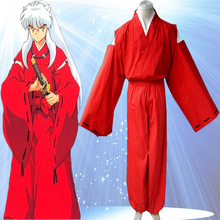 High Quality Custom Made Inuyasha Cosplay Costume (Stock) from Inuyasha Anime Christmas Holloween Plus Size (S-6XL)