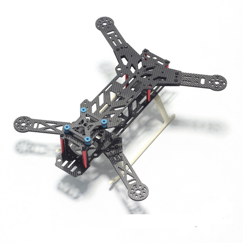 BX300 300mm FPV Folding Carbon Fiber Mini Quadcopter Quad Frame Kit 300 with Landing Gear Skid Racing Quadcopter CC3D 2204 Motor diy mini fpv 250 racing quadcopter carbon fiber frame run with 4s kit cc3d emax mt2204 ii 2300kv dragonfly 12a esc opto