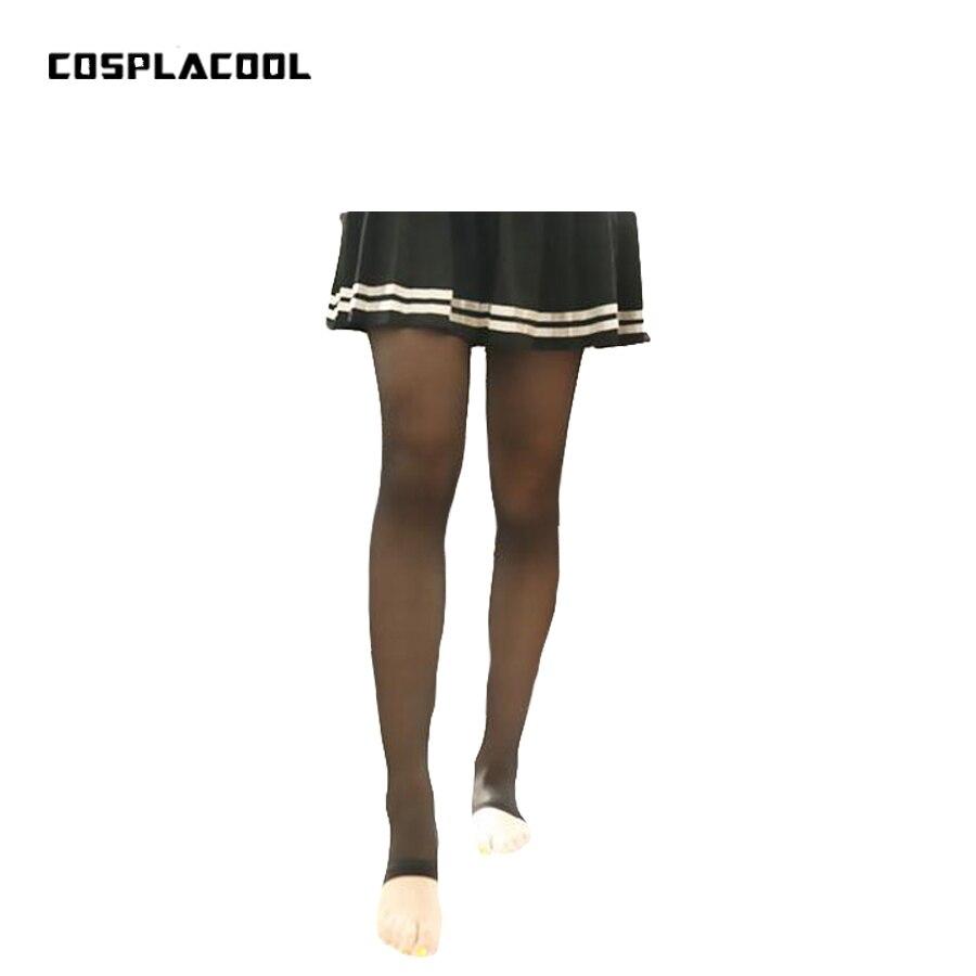 [COSPLACOOL] Women Stirrup Tights sexy nylon tights thin female pantyhose siamese stovepipe abdomen hips Sexy pantyhose