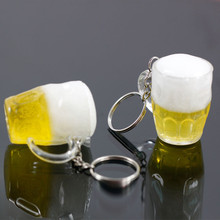 Killer Beer pint keychain