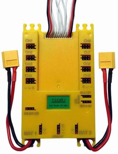 Mini Power DP Ubec 20A Servo Distribution Section Board 7 13V E2103