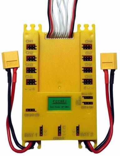 Mini Power DP Ubec 20A Servo Distribution Section Board 7 13V E2103#-in Parts & Accessories from Toys & Hobbies    1