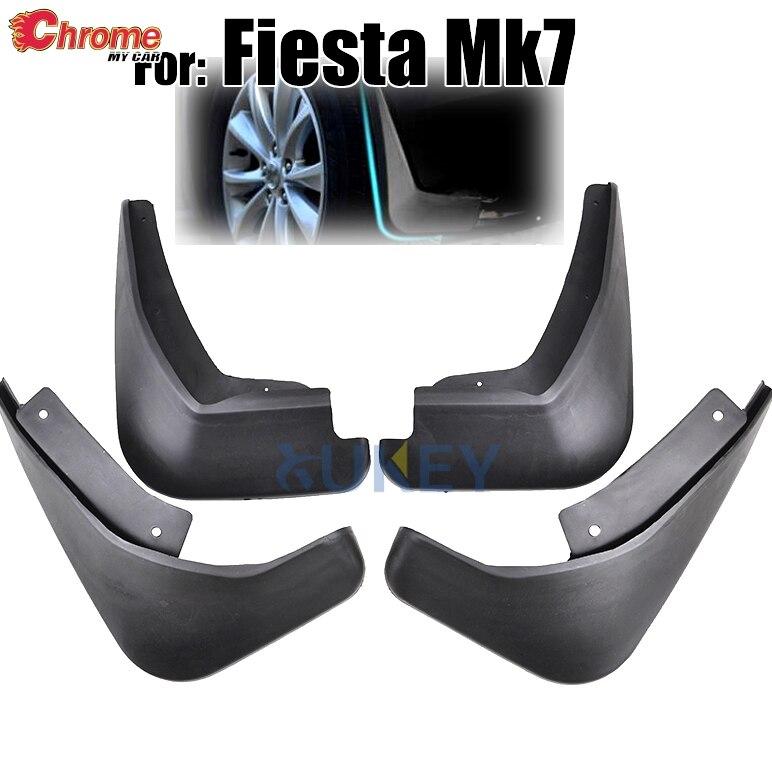 Брызговики формованные для Ford Fiesta Mk7 2009 2010 2011 2012 2013 2014 2015 2016