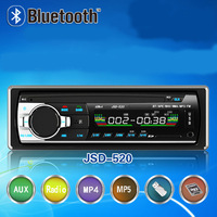 One Din Car Stereo Radio MP3 MP5 With Bluetooth Usb And Sd Card Slot