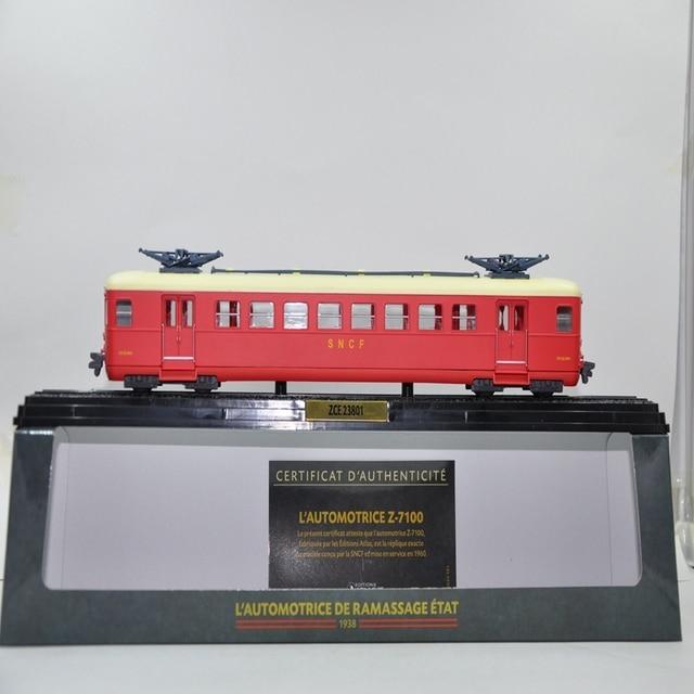 US $34 0 |Aliexpress com : Buy THE 1:87 ATLAS MODEL TRAIN TOYS EDITIONS  LAUTOMOTRICE DE RAMASSAGE ETAT ZCE 23801 PLASTIC Train Model For Collect  from