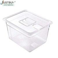 Sous Vide контейнер с крышкой для циркулятора Sous Vide кулинарная плита объемом 11Л