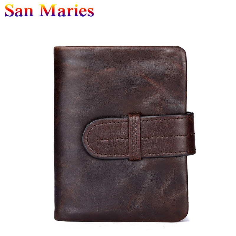 San Maries 2018 Men Wallets Mens Wallet Bag Foldable Small Money Purses New Design Retro Purse Money Clip Wallet anime wallets new designer jeans wallet batman superman denim wallets young boy girls purse small money bag