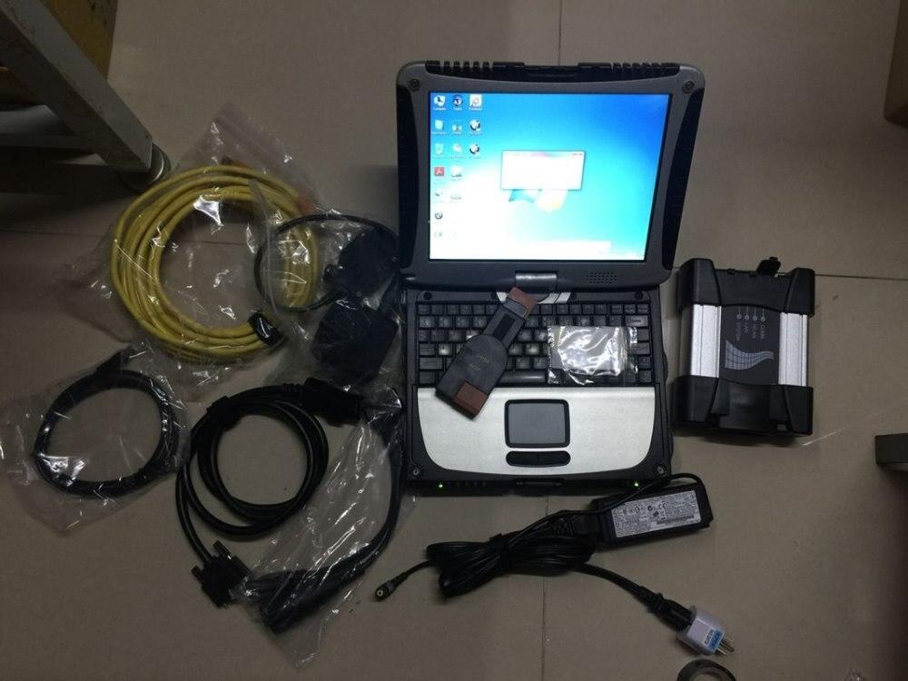 2019 Für Bmw Icom Nächsten Auto Reparatur Werkzeug Mit Software Rheingold 4.16.40 Installiert Gut 480 Gb Ssd Auf Cf19 I5 Laptop Für Bmw Diag