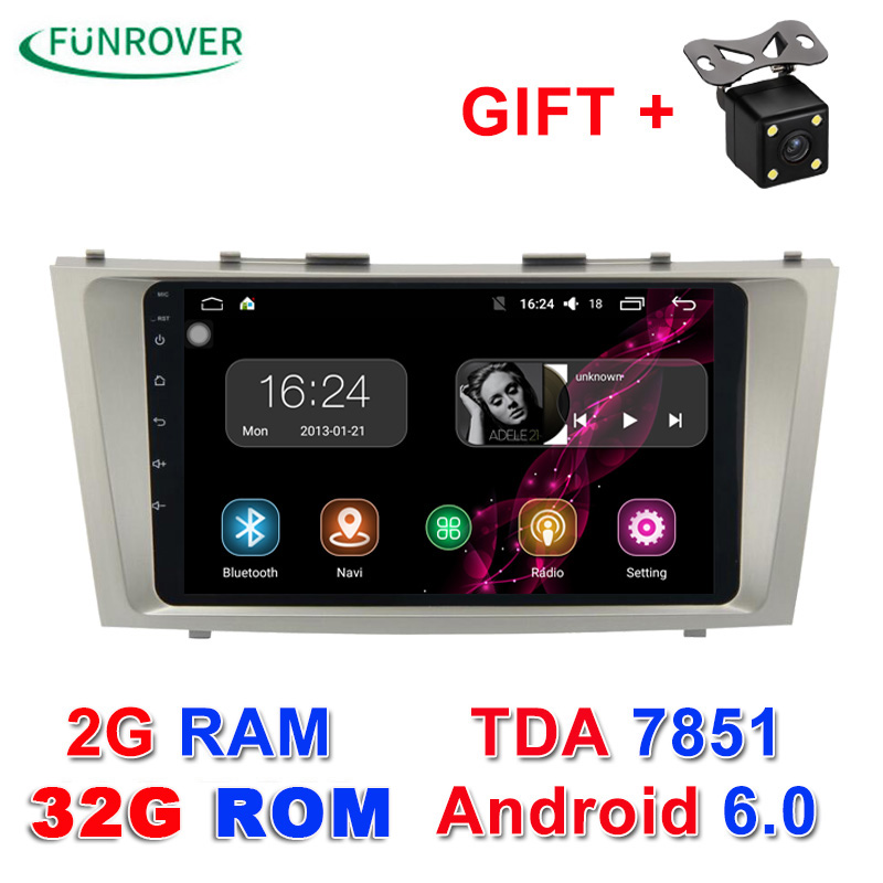 2017 new 2g 32g 2 din android 6 0 car dvd player for toyota camry 2007 2008 2009 2010 2011 radio. Black Bedroom Furniture Sets. Home Design Ideas