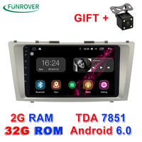 2017 New 2g 32g 2 Din Android 6 0 Car Dvd Player For Toyota Camry 2007