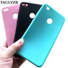 Silicone Case For Huawei P8 Lite 2017 Matte Candy Color Rubber Ultra Thin Soft TPU Phone Bag Cover P9