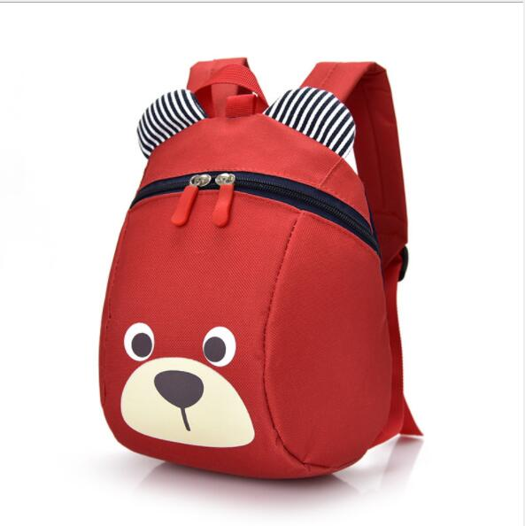 kids Backpacks baby aged safety canvas harness toddler cartoon bear backpack anti lost children strap Toys Plush