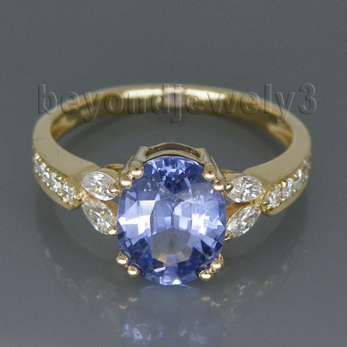 Vintage Oval 7x9mm 14Kt Yellow Gold Natural Sapphire Ring for Women Jewelry Gift SR174 vintage oval carved ring for women