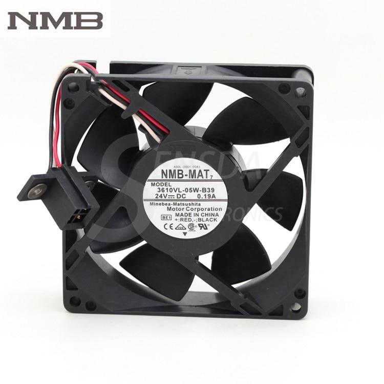 For NMB waterproof 3610VL 05W B39 24V 9225 0 19A fan