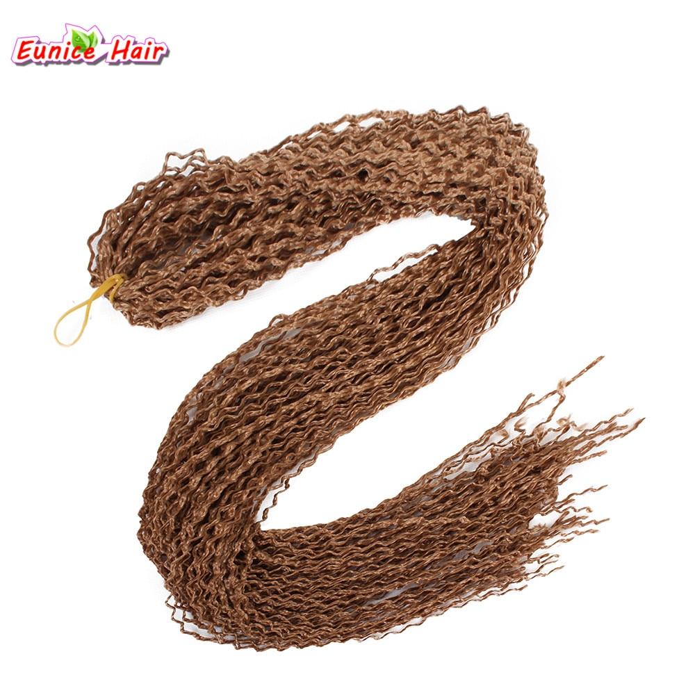 Synthetic Curly Box Braid Hair thin twist 28inch Zizi Braid Hair Bohemian Style 28inch Crochet Braids Hair Extension