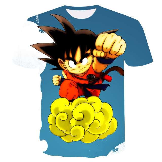 076eb49b Dragon Ball Z T Shirts Mens Summer Fashion 3D Print Super Saiyajin Son Goku  Black Zamasu Vegeta Dragon T-shirt Tops