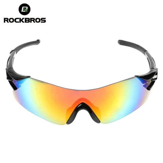 ROCKBROS Cycling Eyewear Sunglasses Mountain Road Bike Cycling Glasses Outdoor Sports Windproof Bike Goggles Bicycle Equipment-in Cycling Eyewear