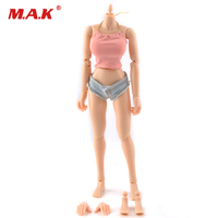 1/6 female TTL CG body action figures large breast boobs flexible nude body collectible doll toys for KUMIK head accessories