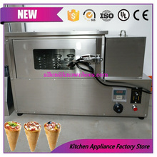 Free shipping 110V/220V automatic durable pizza cone oven baking machine/pizza tube rotary machine for sale