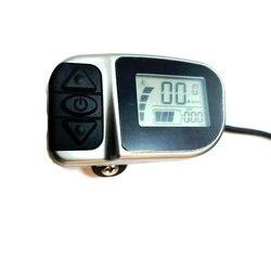 Darmowa wysyłka Tongsheng VLCD6 wyświetlacz LCD 6 złącze pinowe dla czujnik momentu TSDZ2 silnik typu middrive w Akcesoria do rowerów elektrycznych od Sport i rozrywka na