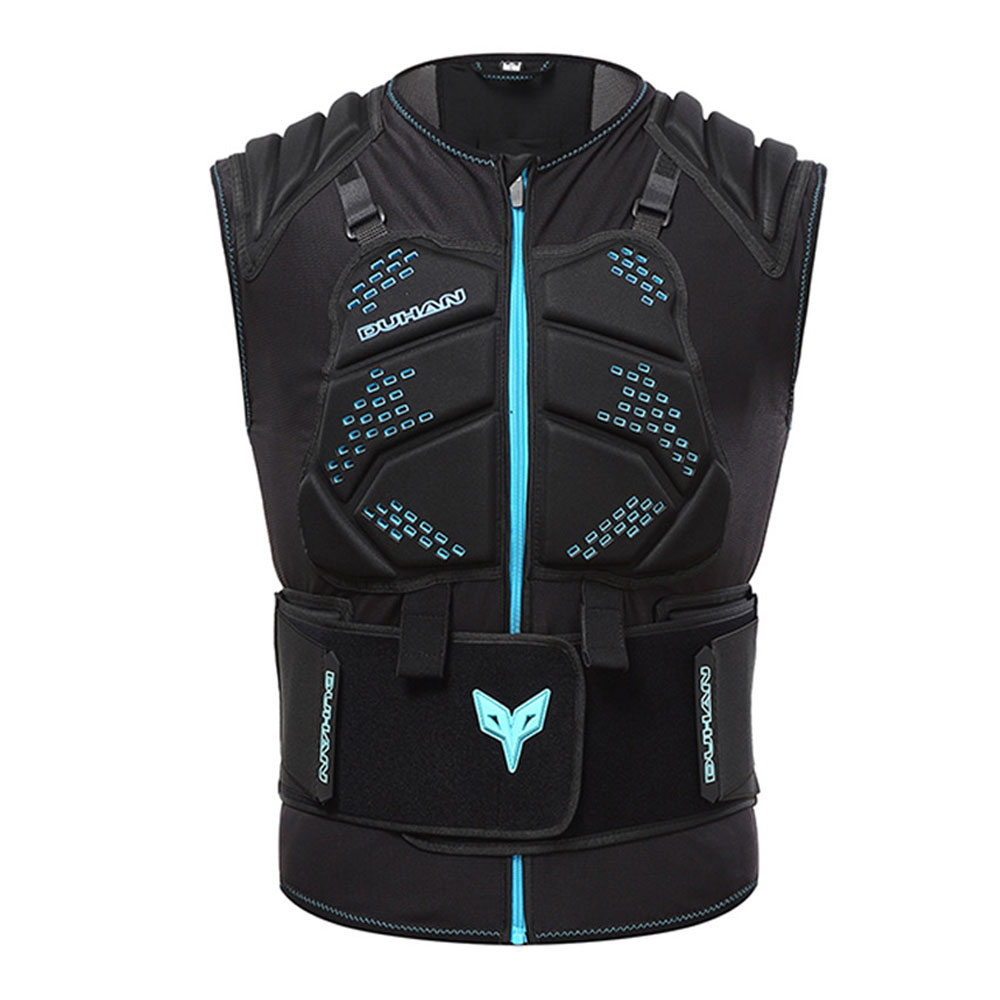 DUHAN veste de Moto unisexe gilet de Motocross armure de Motocross veste de course d'équitation veste de Moto noir armure de Moto