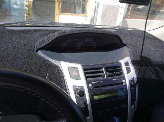 Dashmats Car Styling Acessórios Tampa Do Painel Para Toyota Yaris Sedan  VIOS Belta 2007 2008