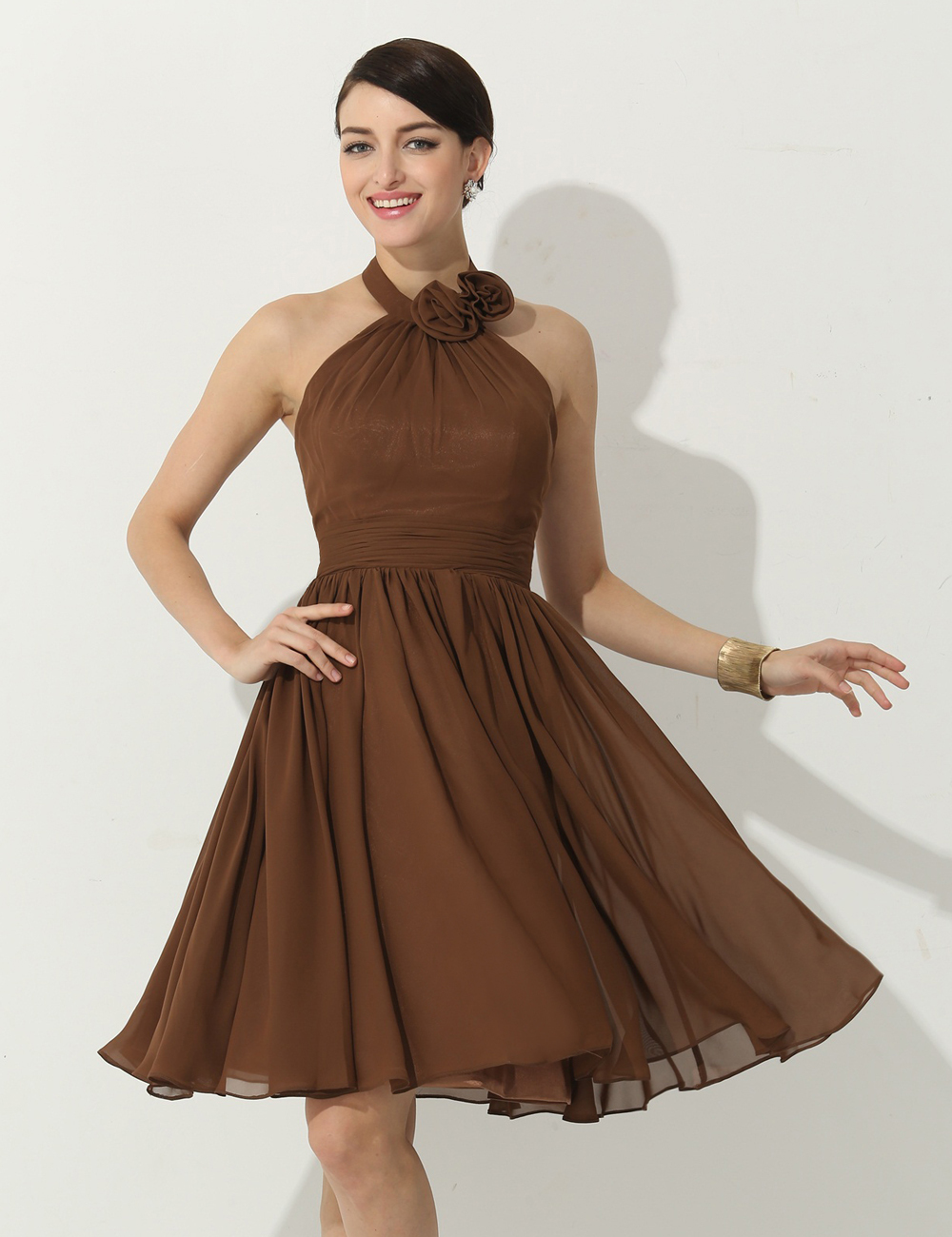 Popular Cheap Brown Bridesmaid Dresses-Buy Cheap Cheap Brown ...